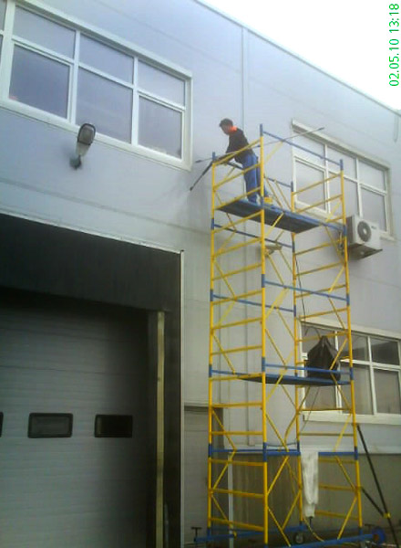 клининг фасадов цена